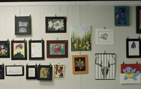 SRAC art show displays high school talent