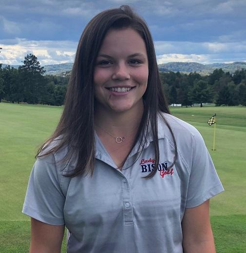 Winner of the Coudersport golf tournament, Christina McGinnis.
