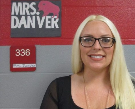 Former 7th and 8th grade teacher Mrs. Danver moves up to teaching 9th grade