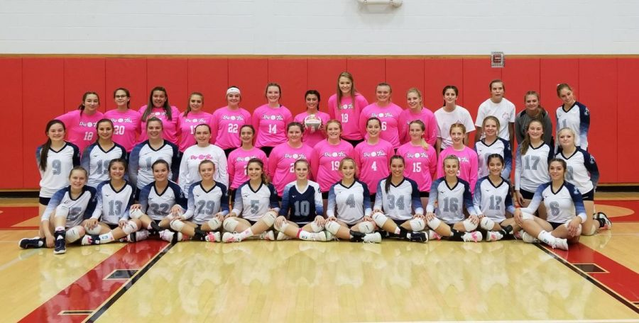 The Clearfield Lady Bison and the Lady Mounties of Philipsburg came together on Thursday night to honor Janette Peacock who is currently fighting stage 3 breast cancer.