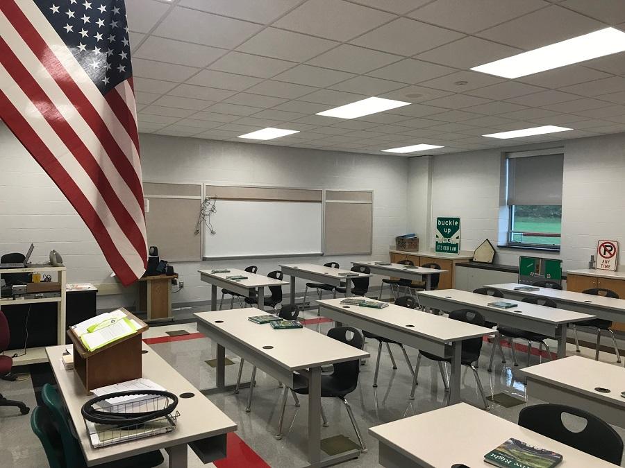 Mr. Billotte's new room