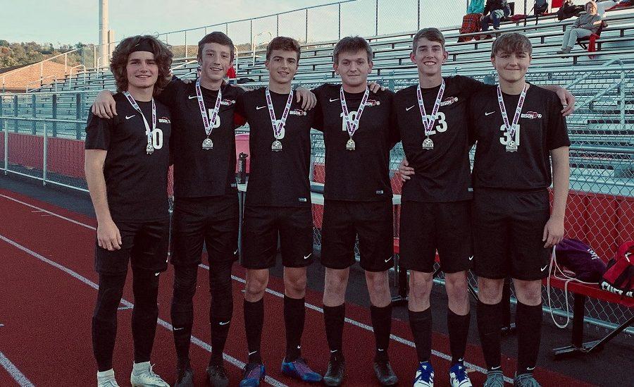 The+boys+soccer+team+has+their+senior+night.