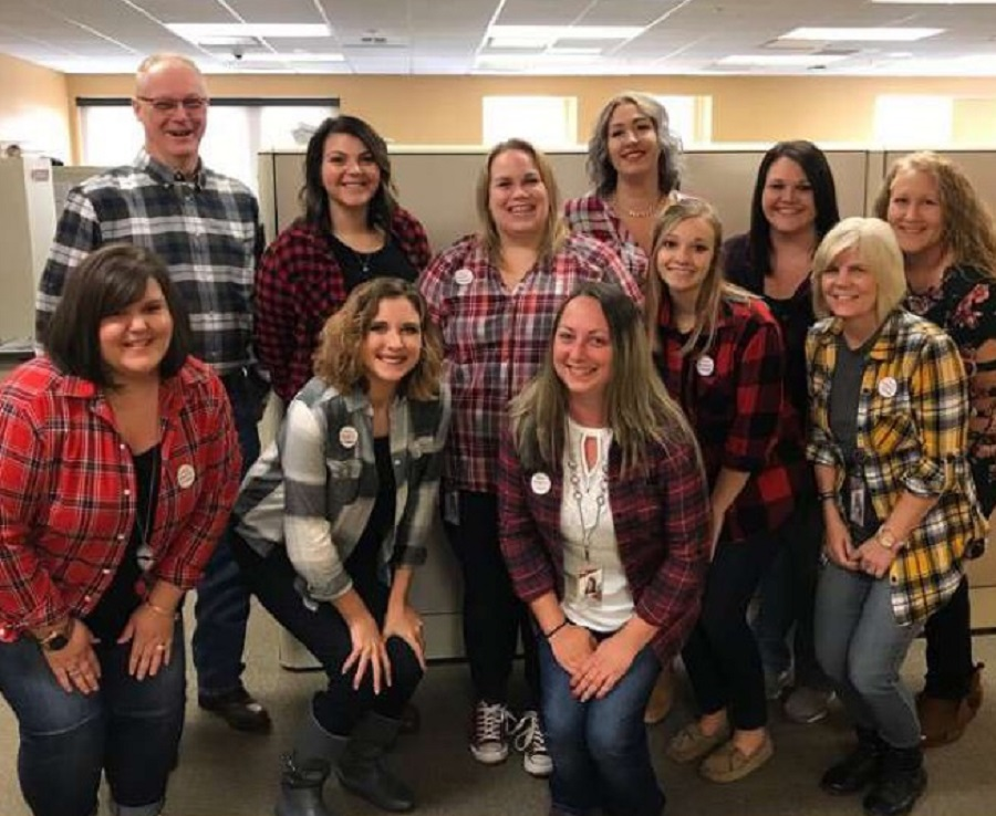 The eSolutions, Compliance, and Fraud department participate in Casual for a Cause.