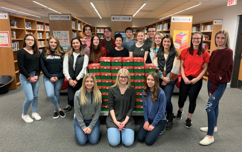 Operation Christmas Child collects more than 60 boxes for kids