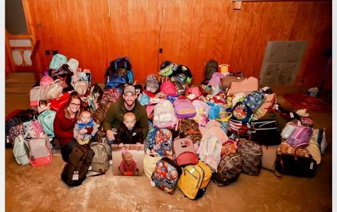 Key Club does Kindness for Kinsley foster care bags