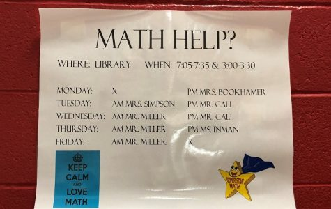 Math tutoring at Clearfield High begins