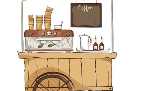 Coffee Cart to arrive in our school