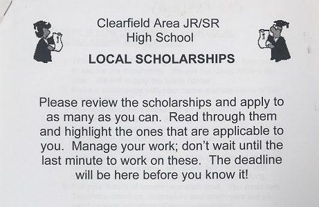 2020 Scholarship packet