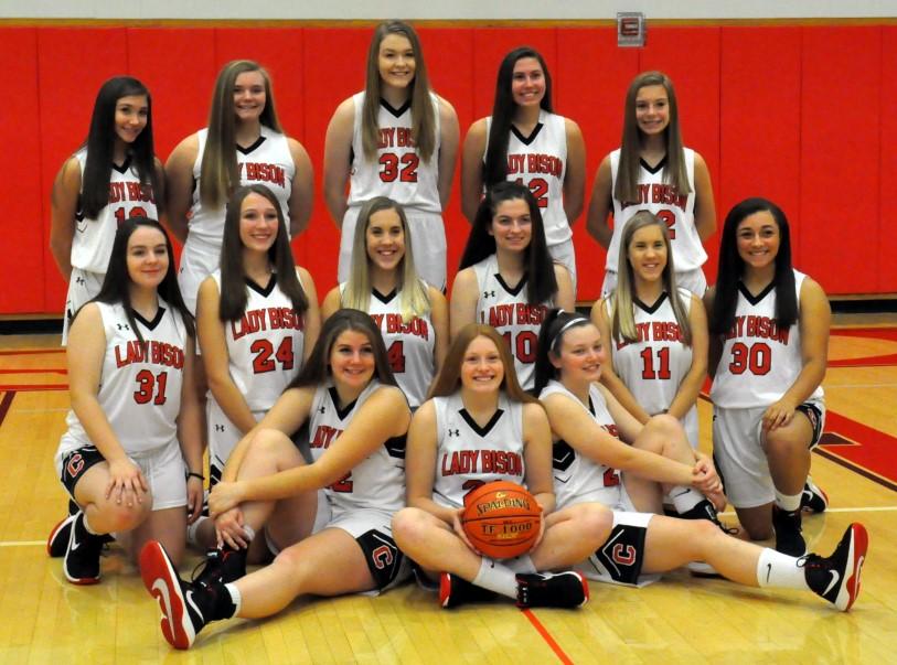 2019-2020 Lady Bison Basketball team (ladybisonsports.org)