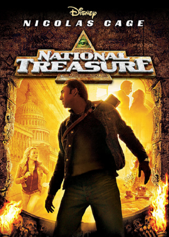 The cover of National Treasure