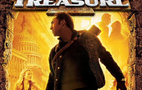 The movie National Treasure teaches the importance of never giving up