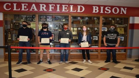 Students of the Month honored for October