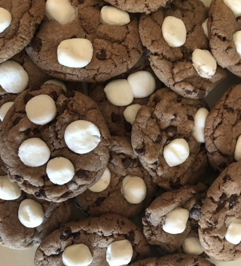 Hot Chocolate Cookies are just in time for cold weather