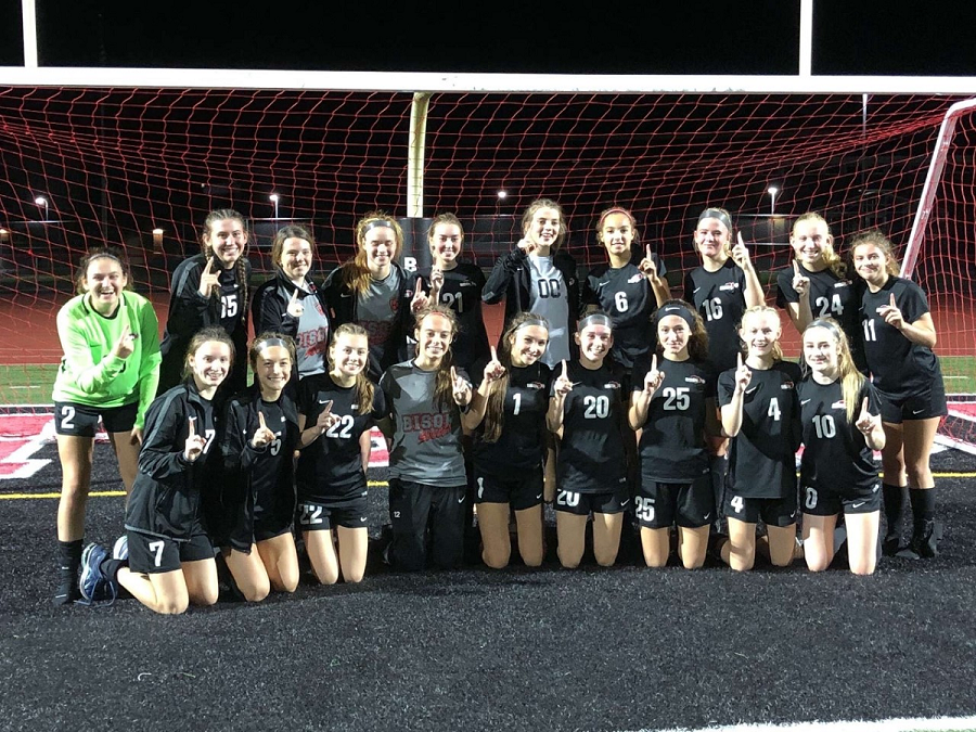 The Clearfield High School Girls Soccer Team.