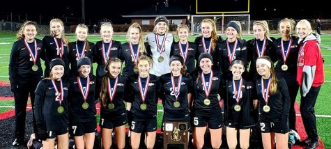 Clearfield Girls Soccer places first at districts