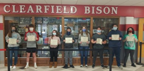 February Students of the Month honored