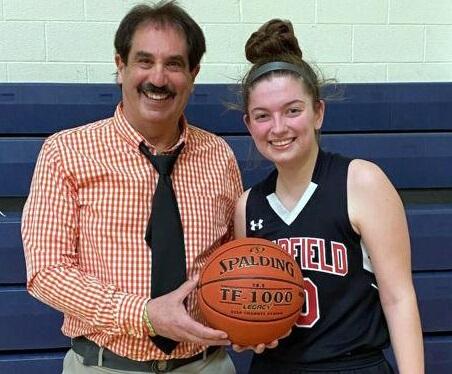 Megan Durandetta Breaks 3-point Record