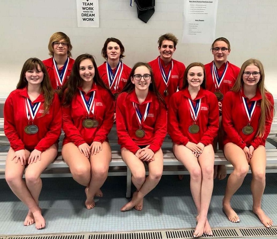 Front%3A+Charlise+McSkimming%2C+Josie+Narehood%2C+Beth+Struble%2C+Emma+Quick%2C+and+Danielle+Cline.%0ABack%3A+Hunter+Cline%2C+Nick+Vaow%2C+Leif+Hoffman%2C+and+Mason+Marshall.
