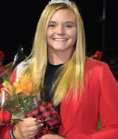 Olivia Bender, after picking the winning rose.